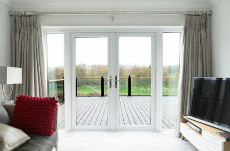UPVC French Door Manufacturing